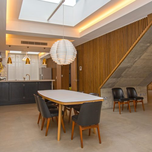 EC 1 Group Interior project